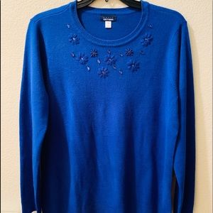 Basic Editions Sweater Blouse (XL)